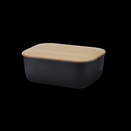 Box-it Butterdose schwarz