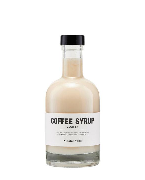 COFFEE SYRUP VANILLA 250 ml