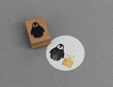 Stempel Pinguinbaby