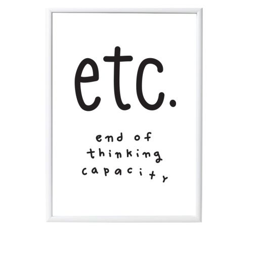 Poster: A3 - Etc