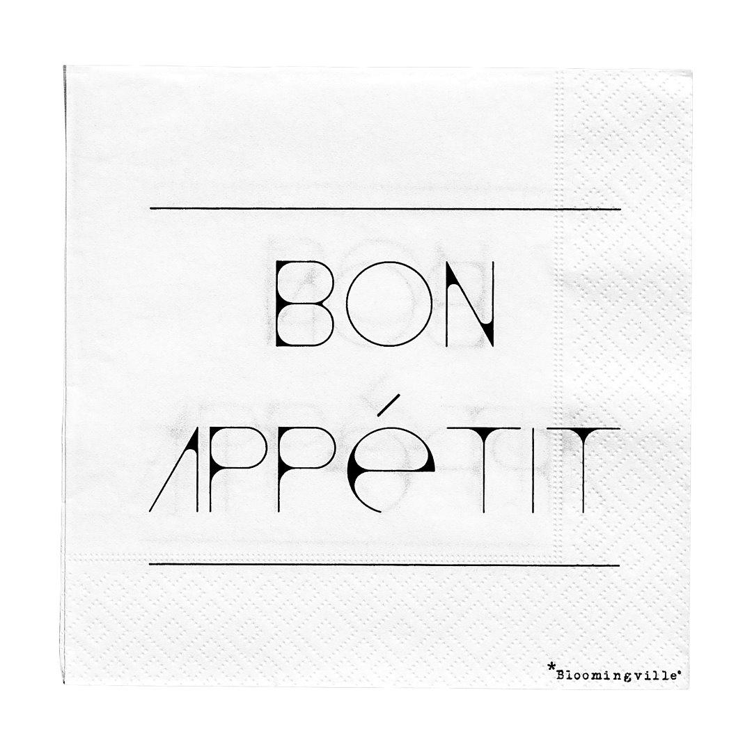 Serviette Bon Appétit - 1