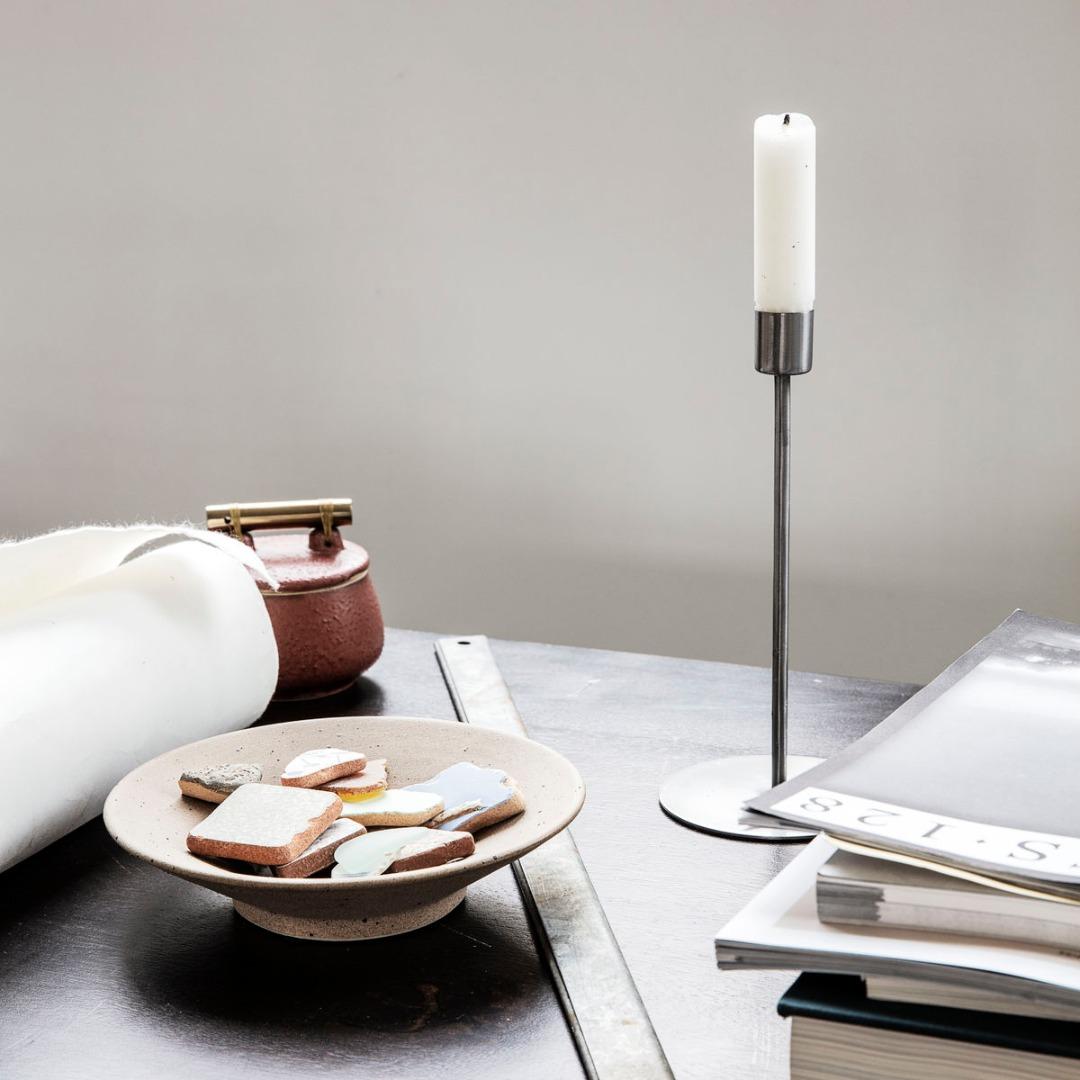 Kerzenständer Anit Eisen H:20cm D:95cm