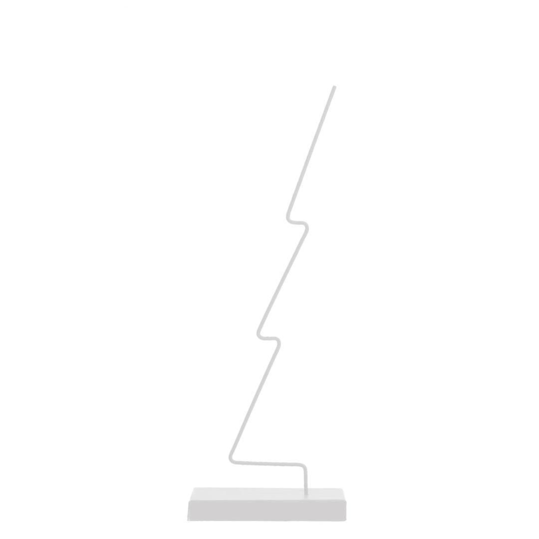Gran- Metalldekoration / weiß 3