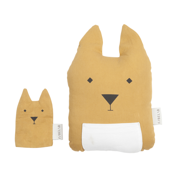 Tierkissen - kangaroo & joey