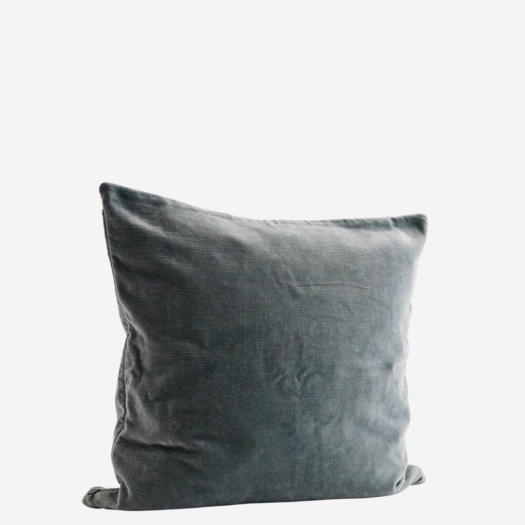 Kissenbezug Velvet, grün - 1