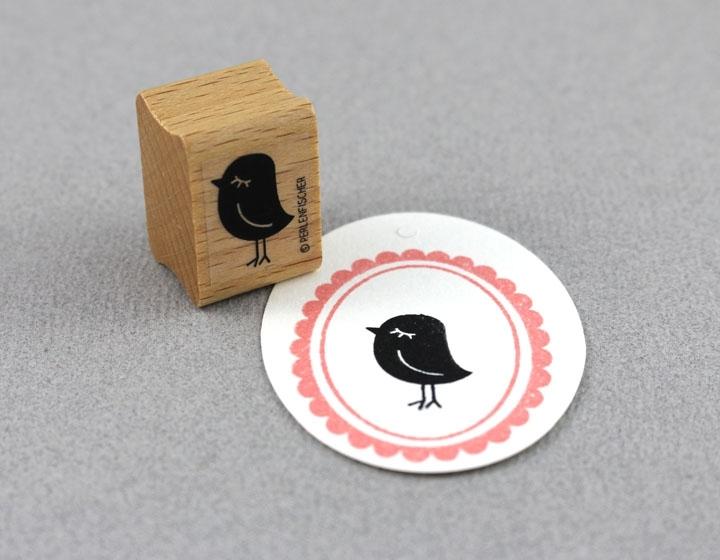 Stempel Vogel Dame - 1