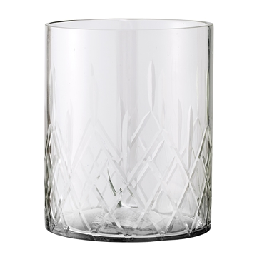 Glas / Windlicht groß - 1
