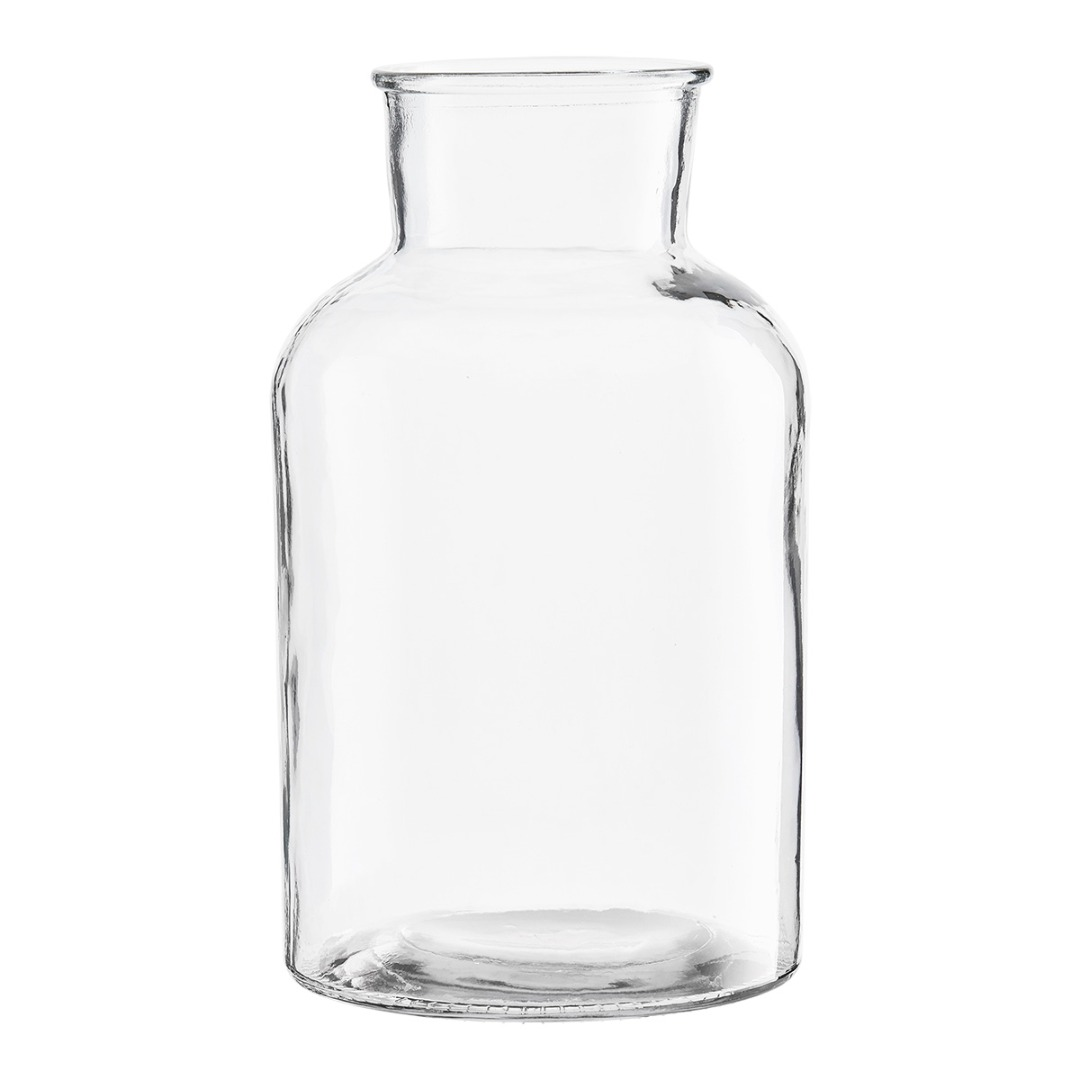 VASE GLAS D:17 cm Höhe: cm