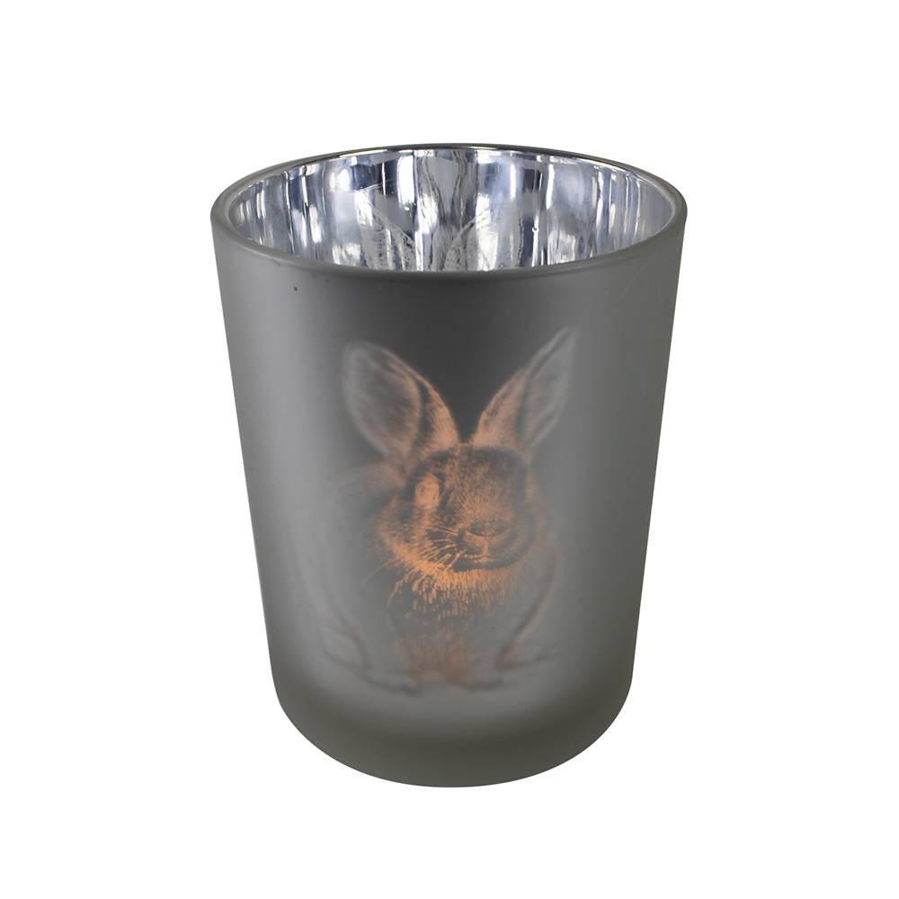 großes Teelicht Kaninchen