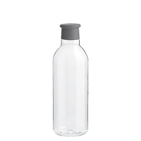 Wasserflasche DRINK IT grau 075 ml