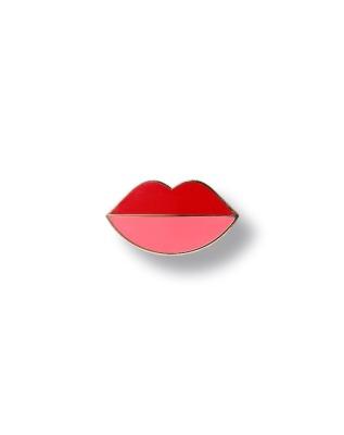Pin lips - Pin Hartemaille mit Schmetterlingsverschluss