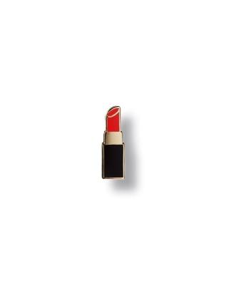 Pin lipstick Pin Hartemaille mit Schmetterlingsverschluss