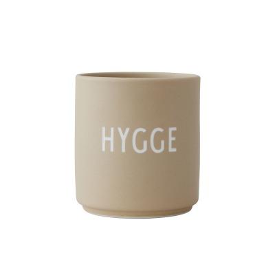 Porzellanbecher HYGGE beige - Design Letters