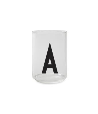 Trinkglas A - Design Letters
