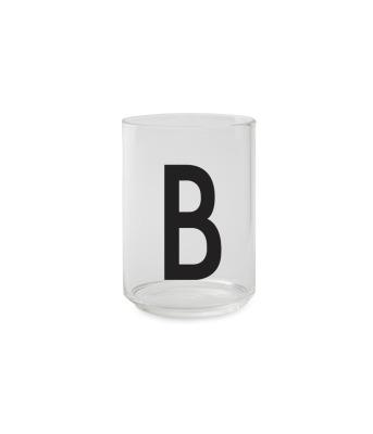 Trinkglas B - Design Letters