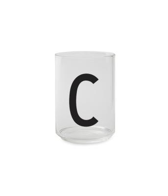 Trinkglas C - Design Letters