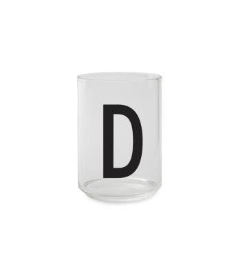 Trinkglas D - Design Letters