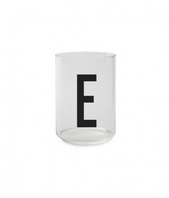 Trinkglas E - Design Letters