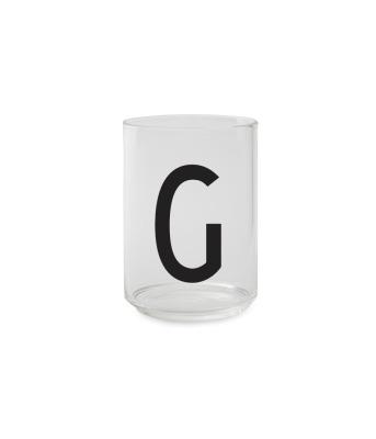 Trinkglas G - Design Letters