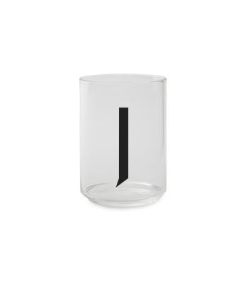 Trinkglas J - Design Letters