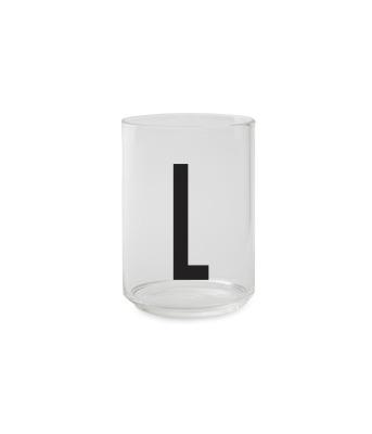 Trinkglas L - Design Letters