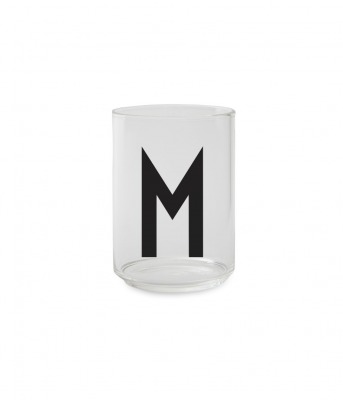 Trinkglas M - Design Letters