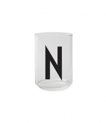 Trinkglas N - Design Letters