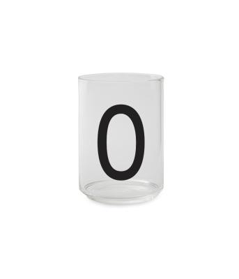 Trinkglas O - Design Letters