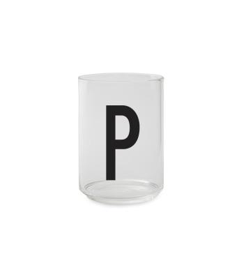 Trinkglas P - Design Letters