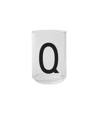 Trinkglas Q - Design Letters