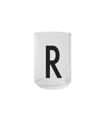 Trinkglas R - Design Letters