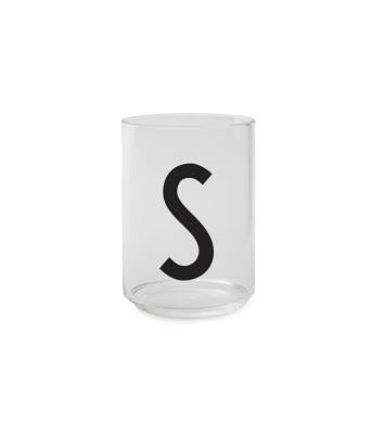 Trinkglas S - Design Letters
