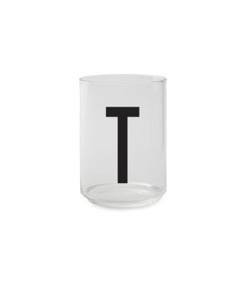 Trinkglas T - Design Letters