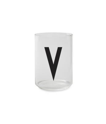 Trinkglas V - Design Letters