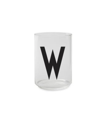 Trinkglas W - Design Letters