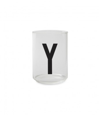 Trinkglas Y - Design Letters