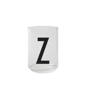 Trinkglas Z - Design Letters