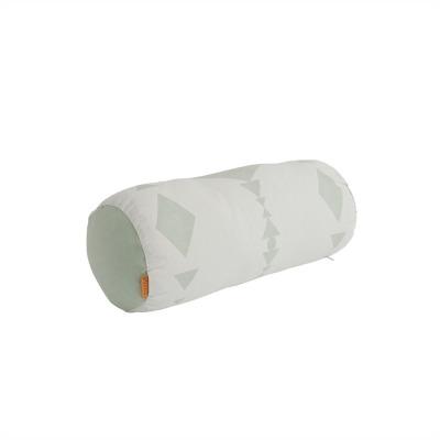Kissen cylinder minze weiß inkl Füllung
