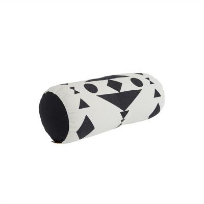 Kissen cylinder weiß/schwarz inkl Füllung Oyoy