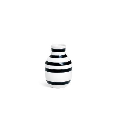 Vase Omaggio - B: 85MM X H: 125MM; black