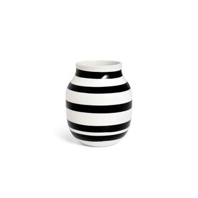Vase Omaggio - B: 165MM X H: 200MM; black