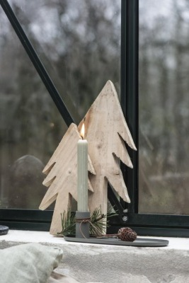 Tannenbaum aus Holz 35cm Ib Laursen