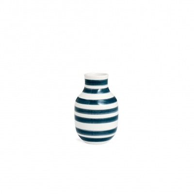 Vase Omaggio - B: 85MM X H: 125MM; granite grey