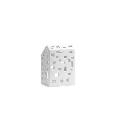 Windlicht - Urbania Lyshus Funkis - B: 80MM X H: 145MM; white