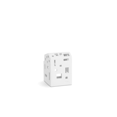 Windlicht - Urbania Lyshus Moderna - B:70MM X H:95MM; white