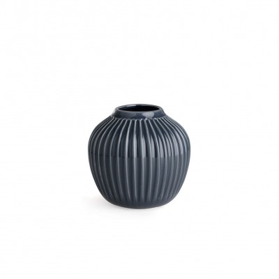 Vase Hammersh i - B: 135MM X H: 125MM; anthracite