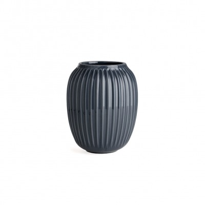 Vase Hammersh i - B: 165MM X H: 200MM; anthracite