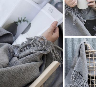 Decke MYSINGE aus Baumwolle von Storefactory