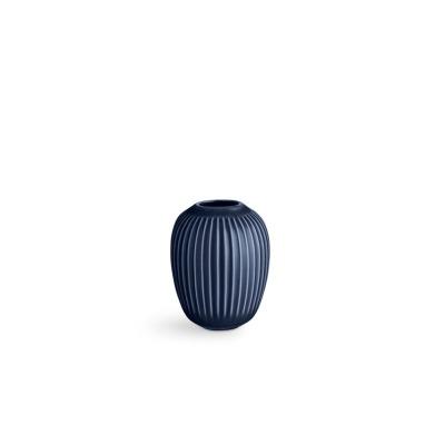 Vase Hammersh i - B:85MM X H:100MM; indigo