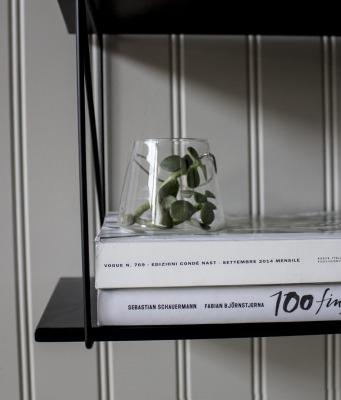 Vase aus klarem Glas von Storefactory